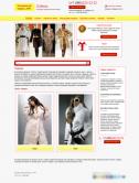 Интернет-магазин кожи и меха (яркий)